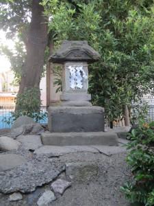 氷川神社富士塚