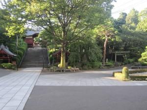 不老門と富士道